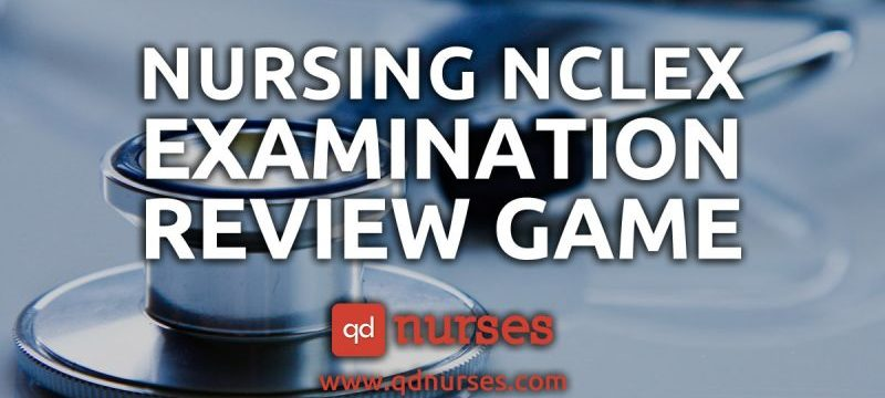 Nursing NCLEX Examination Review Game