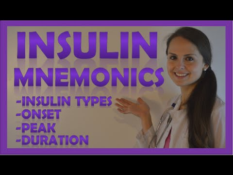 Easy Insulin Mnemonic You Need to Learn in Under 6 Minutes